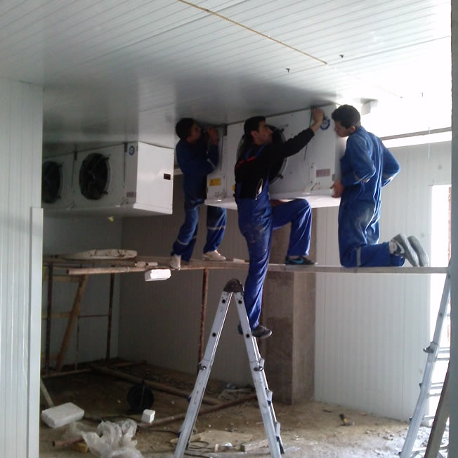 chambre froide installation